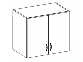 W60 horní skříňka dvoudveřová CHAMONIX II