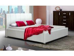 Čalouněná postel LUBNICE I 180 výběr látek