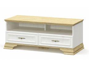 Televizní stolek IRIS borovice andersen/zlatý dub