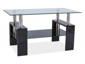 Konferenční stolek LISA III - černý lak