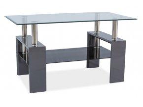Konferenční stolek LISA III - šedý lak