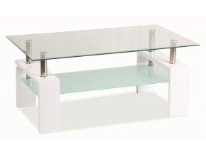 Konferenční stolek LISA BASIC - bílý