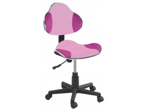 Kancelářská židle Q-G2 růžová