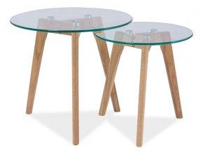 Konferenční stolky sestava 2ks OSLO S2