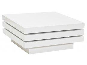 Konferenční stolek TRISTA rozkládací bílý