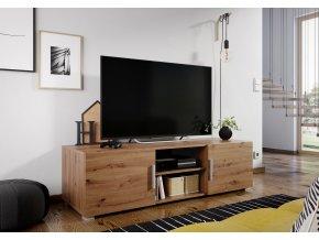 Televizní stolek JERSEY dub artisan