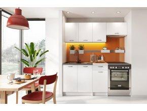 Kuchyně MELVIN 180 s PD bílá mat