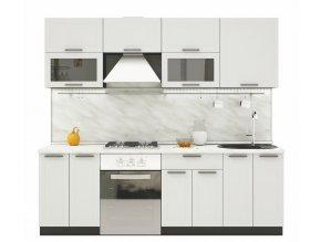 Kuchyně GLACIER 240 wk/gainsborough