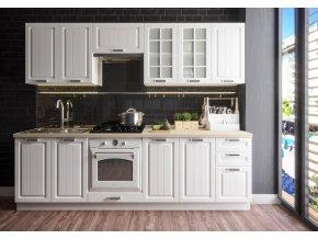 Kuchyně PRAGA 260 II bílá/bílá