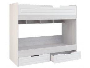 Poschoďová postel PRAGA KIDS KP-723