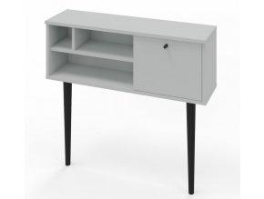 Konzolový stolek VERMONT světle šedá