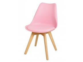 Jídelní židle CROSS II růžová