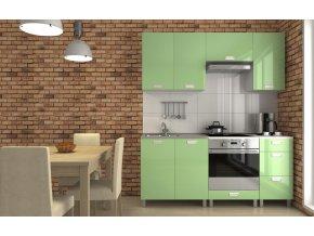 Kuchyňská linka Despacito RLG 180 zelený lesk