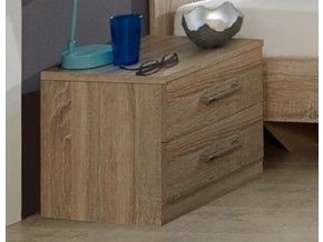 Noční stolek PAMELA 697 řezaný dub