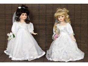 Panenka s porcelánovou hlavičkou - nevěsta