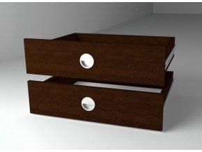 Zásuvky (2ks) 43x60 ke skříni wenge