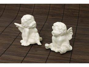 Porcelánový anděl