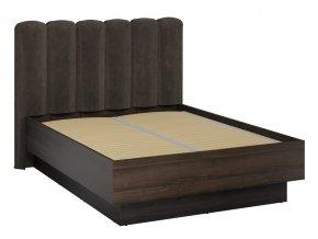 Postel 160 EMERSON 03 charlestone tabák/černá