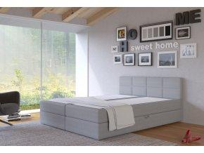 Postel s matrací s ÚP TISA 160x200cm (PUR - I91)