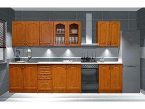 Kuchyně PREMIUM 260 olše bez PD