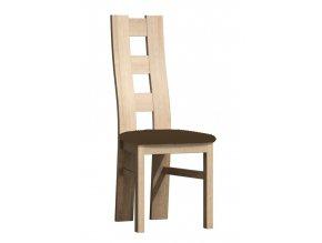 Čalouněná židle TADEÁŠ kraft zlatý/Victoria 36