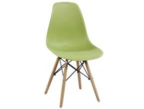 Jídelní židle MODENA II zelená oliva