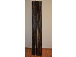 Bambusová tyč 3- 4 cm, délka 2 metry, bambus black