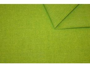 Látka Uni Living světle zelený melír
