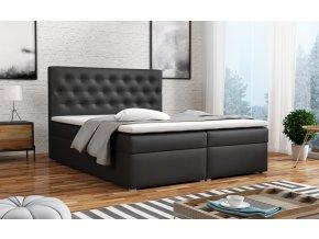 Postel s matrací s ÚP ANTONIO BOX 140x200 ekokůže Madryt 9354