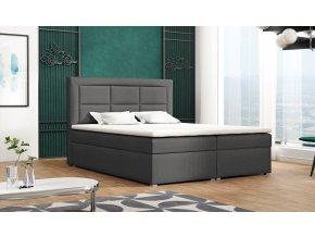 Postel s matrací s ÚP AURELIA BOX 160x200 výběr látek