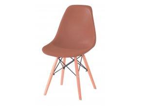 Jídelní židle Enzo hnědá