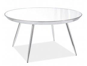 Konferenční stolek BORA B chróm/zrcadlo