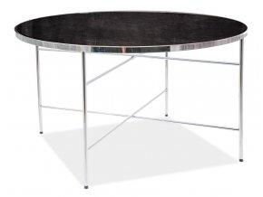 Konferenční stolek IBIZA B mramor/chróm