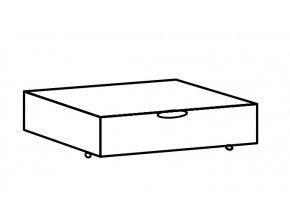 Zásuvka pod postel MARGITA 288 dub