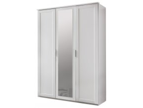 Šatní skříň 3-dveřová MARGITA 565 bílá