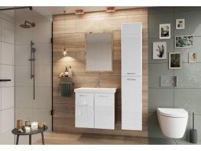 Koupelnová sestava DUNDALK II bílá lesk