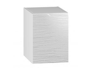 D40L skříňka spodní levá NARAN bílá hologram