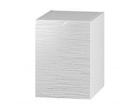 D40P skříňka spodní pravá NARAN bílá hologram