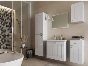 Koupelnová sestava ARMOY I bílá lesk