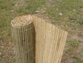 Bambusová rohož plotová - štípaná 100x500 cm