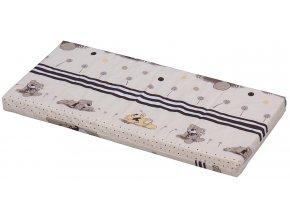 Molitanová matrace do kolébky a postýlky Baby Scarlett - 90 x 41 x 6 cm