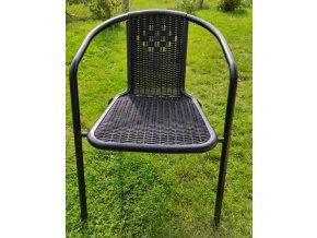 Balkonová židle BASILEJ antracit