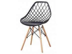 Jídelní židle AQUILA černá