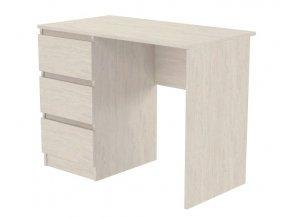 Pracovní stůl BRIZ 1 jasan angkor světlý