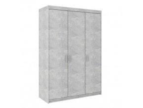 Skříň Enja 3D beton