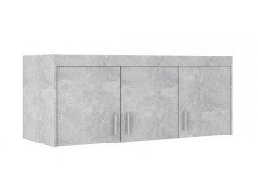 Nádstavec na skříň Enja 3D beton