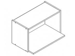 WO60MV h. skříňka na mikrovlnku LUCIA bílá