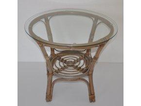Ratanový stolek Dhika ratan kubu