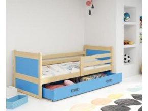 postel Rico modrá