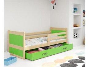 postel Rico zelená